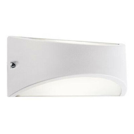 Muro esterno lampada Alicja LAMPADE mondo rettangolare in acciaio INOX luce in alto in basso lampada parete