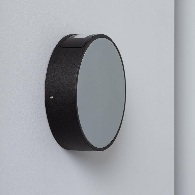 Applique LED Crono 6W Grigia Bianco Caldo 2800K - 3200K