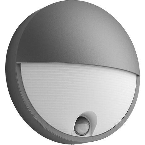 """main image of """"Applique LED extérieure avec détecteur de mouvement Philips Lighting Capricorn 164569316 LED intégrée anthracite W625931"""""""