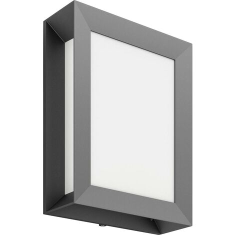 """main image of """"Applique LED extérieure Philips Lighting Karp 172939316 LED intégrée anthracite W626841"""""""