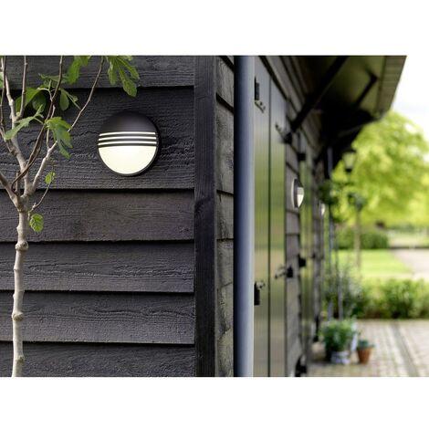 Applique LED extérieure Philips Lighting Yarrow 172963016 LED intégrée noir