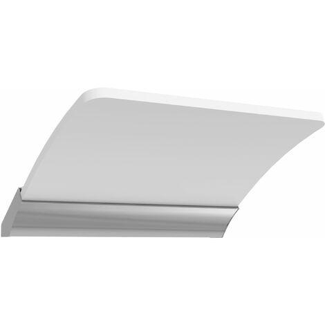 Applique LED miroir salle de bain SLAP chromé brillant - Allibert