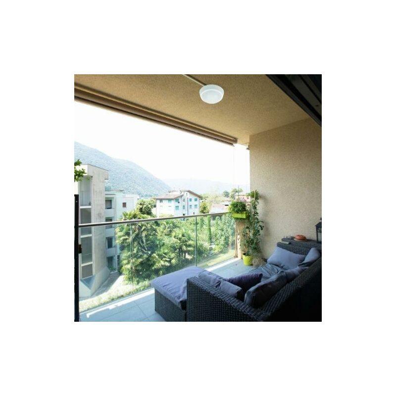 Plafonnier LED 13W Blanc Rond avec Détecteur de Mouvement IP65 - Blanc Chaud 2300K - 3500K - SILAMP