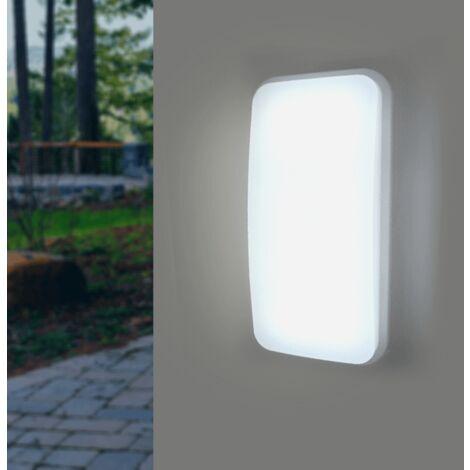 Applique LED Murale 20W Rectangulaire IP65 (Pack de 10)