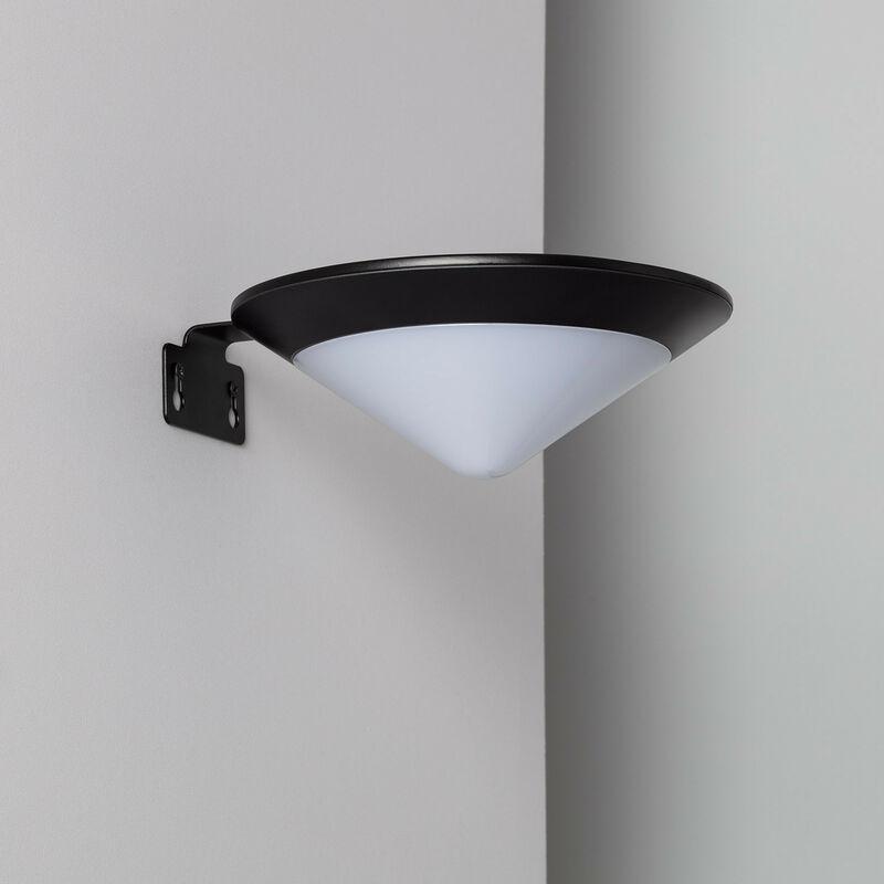 Applique LED Solare Tucson con Sensore di Movimento Radar IP65 Bianco Caldo 2800K - 3200K