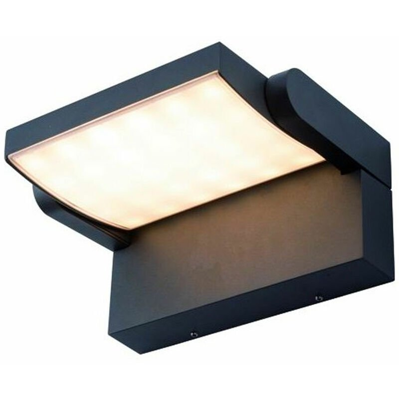 Lampada LED da Parete 12W 750lm Applique Alluminio Illuminazione Esterno Moderno