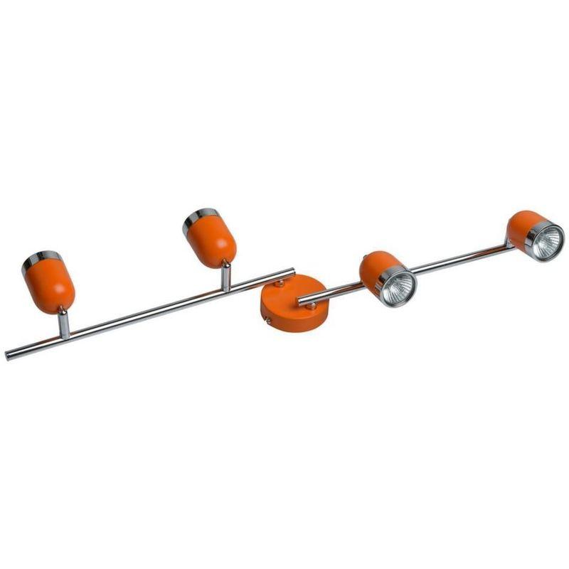 Applique Murale 4 Spots Orange 546021204