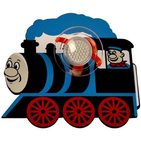 Applique Murale Chambre Enfants Locomotives Mobiles Design avec set de stickers Cars stickers