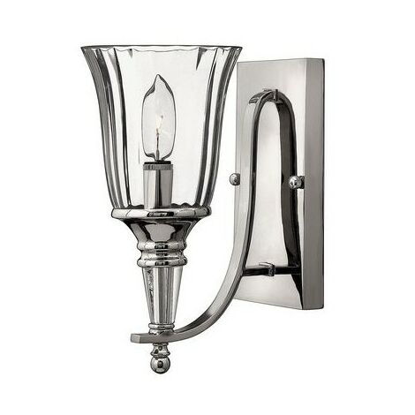 Chandon Hinkley 1x60w Murale Hkchandon1 Applique Argent vnmNO80w