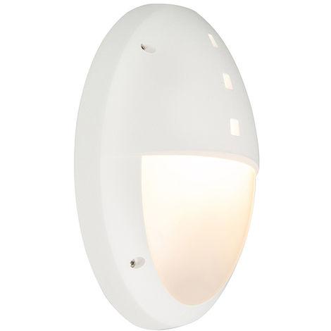 Applique Murale Ip44 Luminaire Exterieur Blanc Danzi Qazqa Moderne fb7IgY6yv