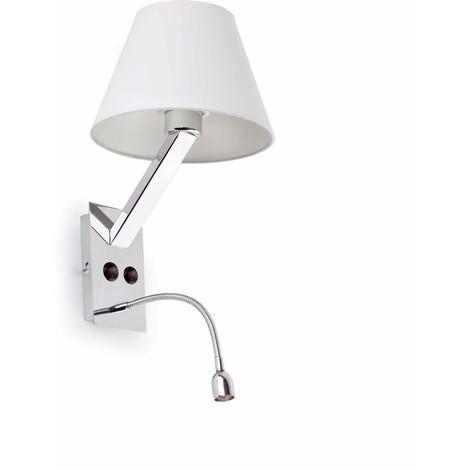 Moma 2 Led Lampe Applique Blanc Fa68506