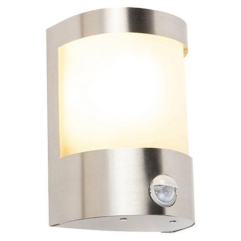 Design en acier inoxydable DEL Appliques Murales balcon ip44 extérieur éclairages Lampes Projecteurs