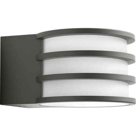 Applique murale extérieure 9.5 W 1x E27 Philips Lighting Lucca 1740193P0 anthracite 1 pc(s)