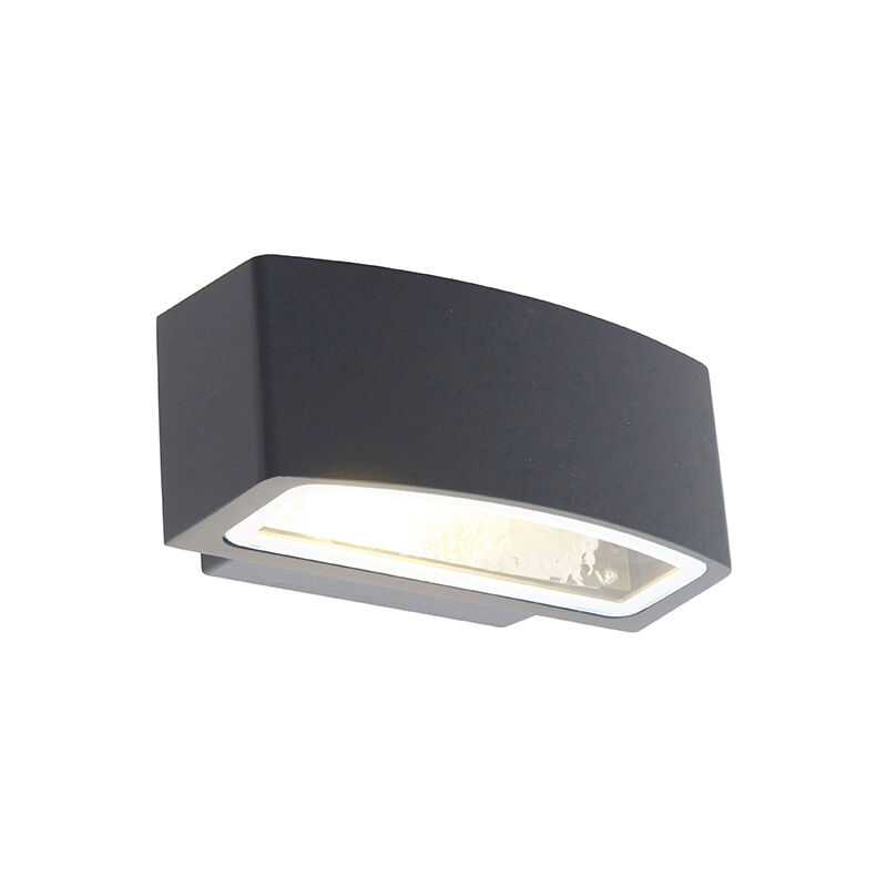 Moderne Luminaire Extérieure Exterieur E27 Applique Ip44 Murale Latina Anthracite Qazqa ZwXiuPTOk