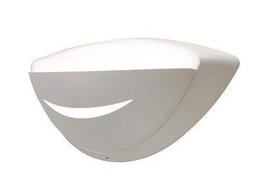 Applique murale fluo 1x9w ovale 378x157mm visiere blanc avec lampe