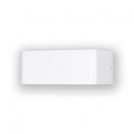 Applique murale intérieure Led 6W (55W) Forme pavé Blanc chaud 3000°K