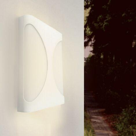 Applique Murale LED blanche 18W IP44 - Blanc Neutre 4000K - 5500K