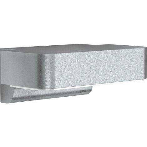 Applique murale LED extérieure avec détecteur de mouvements Steinel L 800 iHF 671419 LED intégrée aluminium