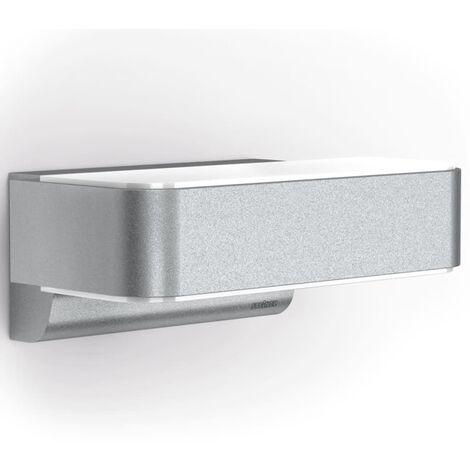 Applique murale LED extérieure avec détecteur de mouvements Steinel L 810 iHF 671310 LED intégrée aluminium