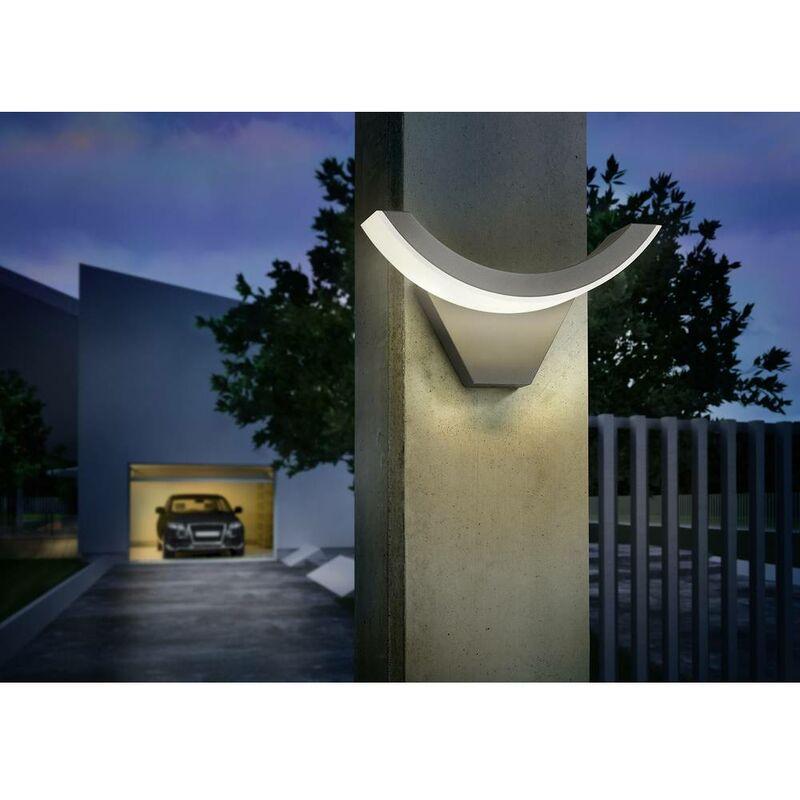 Applique murale led extérieure esotec swingline led