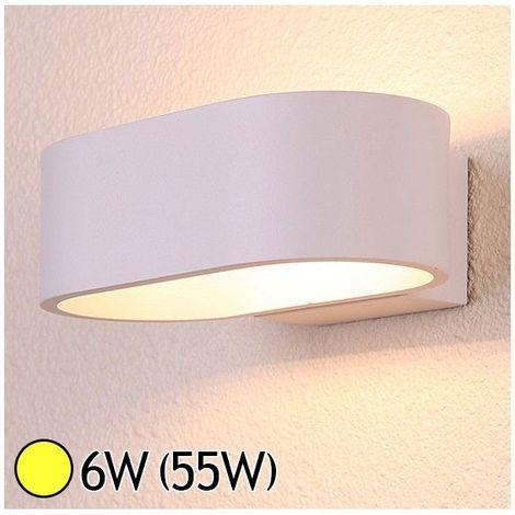 Applique murale LED Pavé arrondi 6W