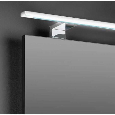 Applique Murale Salle de Bain Design LED IP44 14W 800mm - Chromé - SILAMP