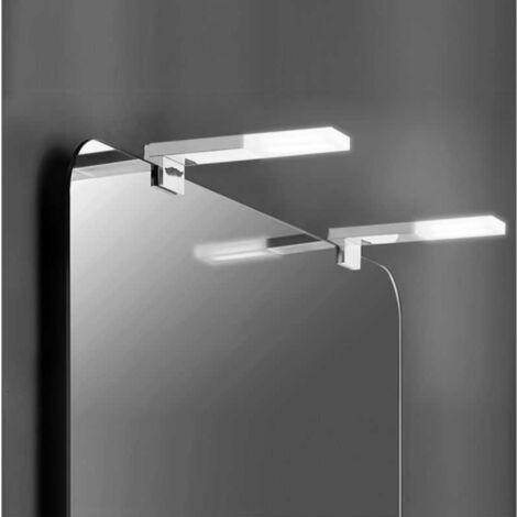 Applique Murale Salle de Bain Design LED IP44 5W 160mm - Chromé - SILAMP