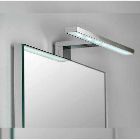 Applique Murale Salle de Bain Design LED IP44 7W 300mm - Chromé - SILAMP
