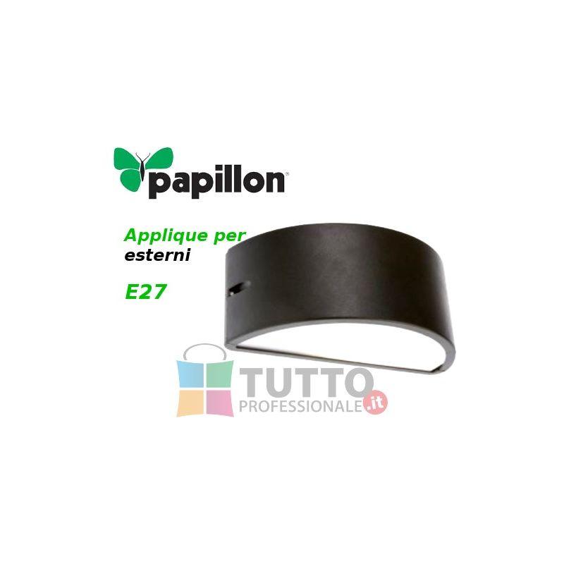 Plafoniere Per Tettoie : Applique per esterni papillon alluminio pressofuso e