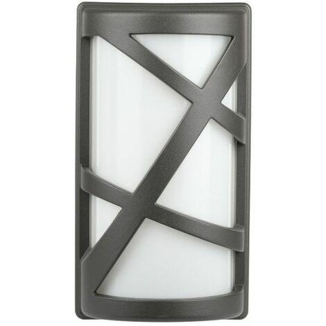 Applique pour le jardin avec porte-lampe E27 (Max 40W)