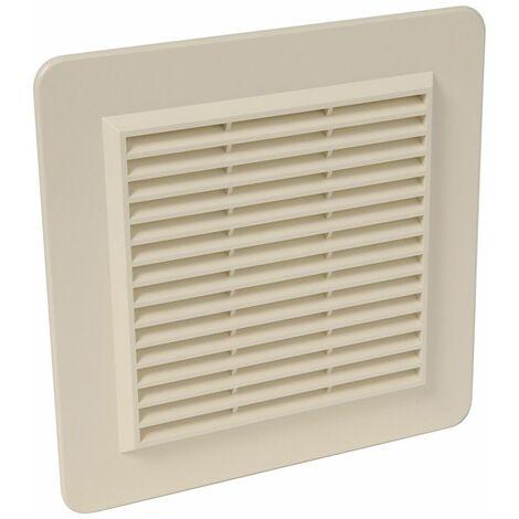 Applique PVC avec moustiquaire : Rectangulaire horizontale 226x323, sable