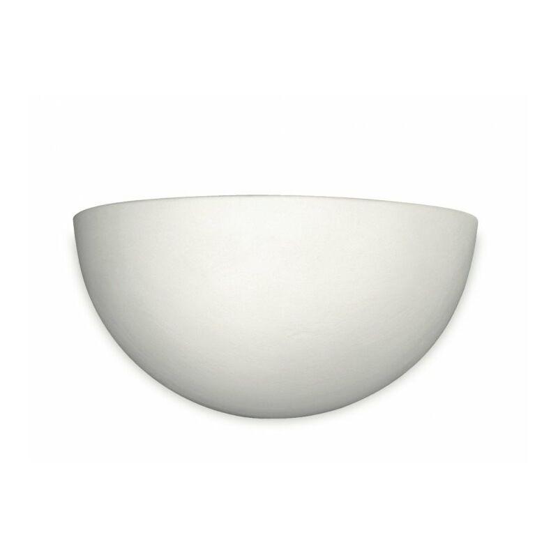 Applique classica bianca dalla forma semplice 120 watt R7S