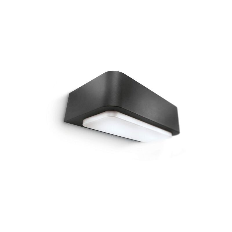 Applique rettang. luce up/down antracite - 1xG24Q1 13W