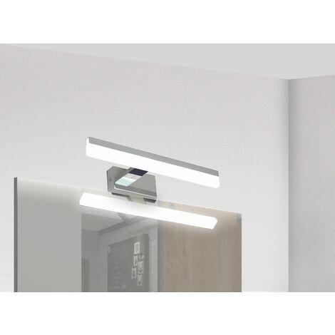 Applique salle de bain 32cm Miroir - GAMMA techno OPTICARE™ - VOLTMAN - IP44 7W 4000K 560Lm - Chrome