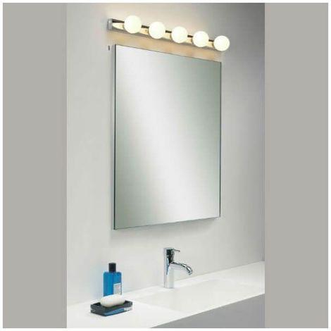 Applique salle de bain Cabaret 5 - Chrome