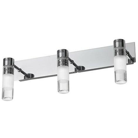 """main image of """"Applique Salle de Bain Classe 2 Success 3 lampes LED - Argent"""""""
