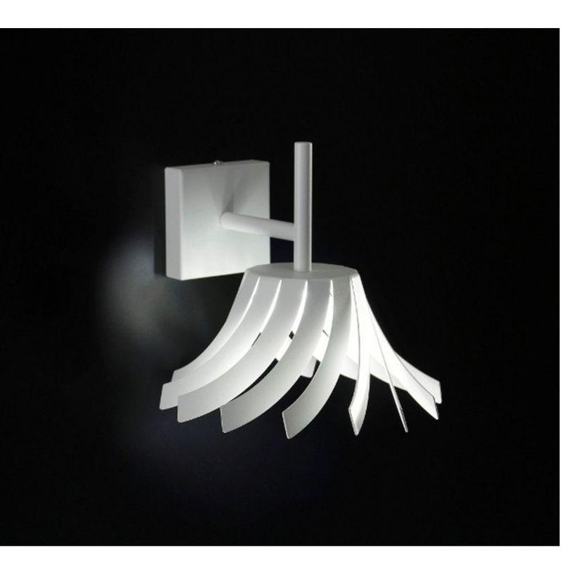 Applique sn-panama led 11w metallo verniciato moderno lampada parete interno ip20 - SELENE ILLUMINAZIONE