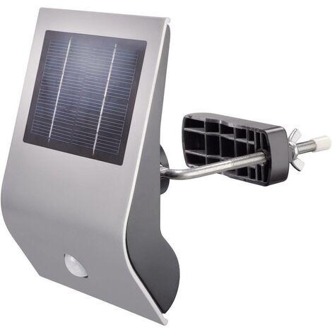 Applique solaire extérieure avec détecteur de mouvement Esotec Flexi Light 102420 argent 1 pc(s)