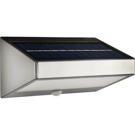 Applique solaire extérieure avec détecteur de mouvement Philips Lighting Greenhouse 178114716 1.5 W blanc chaud gris 1 pc(s)