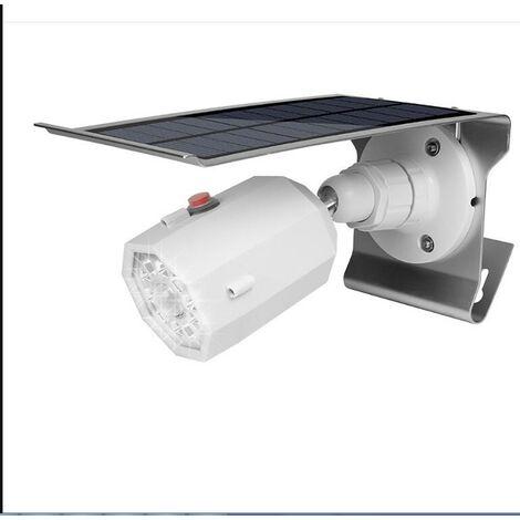 Applique Solaire, Surveillance De Simulation, Capteur Infrarouge Du Corps Humain, Projecteur,Fausse Caméra, Lampe De Jardin