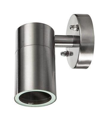 Bellotti - Applique teti silver con 1 luce - FARETTO LAMPADA LUCE IN ACCIAIO