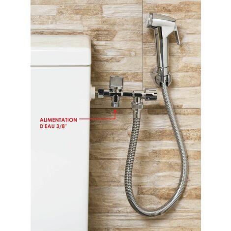 Applique WC extérieure avec douchette -
