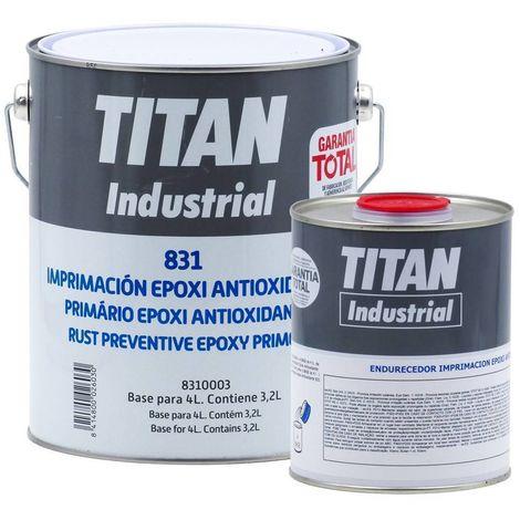 Apprêt Epoxi Antirouille Titan 831 | 4 L - Beige