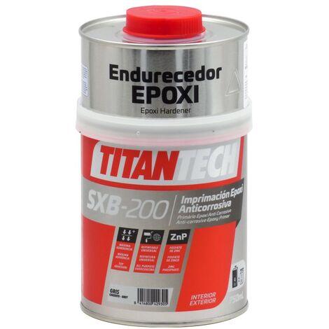 Apprêt époxy anticorrosion SXB-200 TitanTech   750 ml - gris