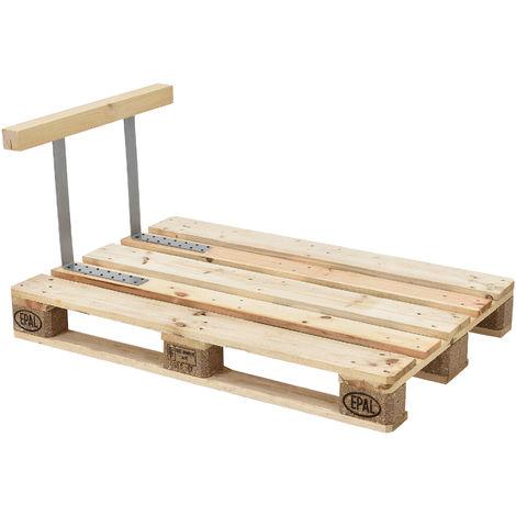 Appuie-bras pour canapé euro palettes massif aspect de bois DIY meuble