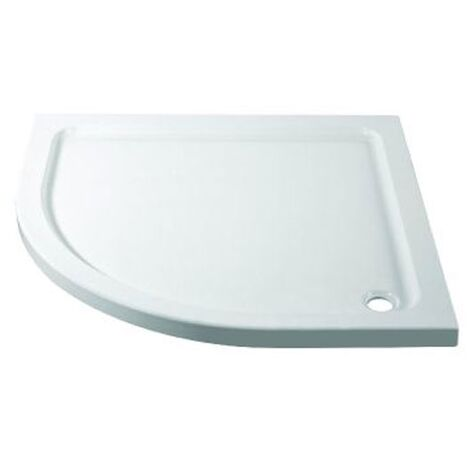"""main image of """"April Quadrant Shower Tray 900mm x 900mm - Stone Resin"""""""