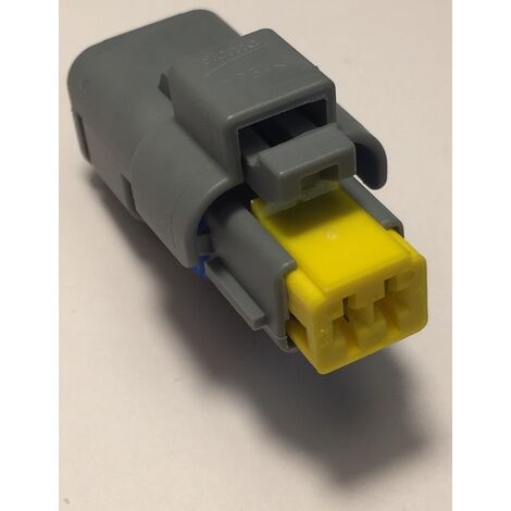 Aptiv 211PC022S8049 Connecteur automobile 2P femelle - SICMA 1.5 - Gris/Bleu/Jaune