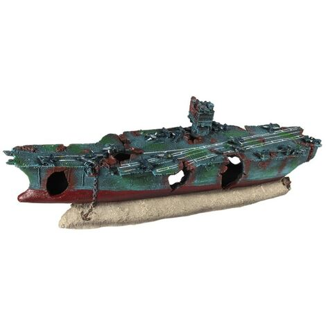 Aqua d'ella Air Craft Carrier 68x17.5x25cm Polyresin