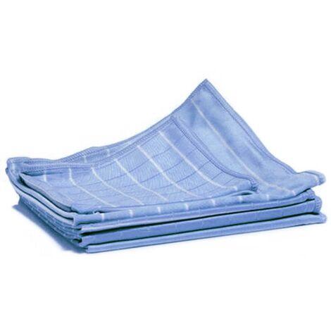 Aqua Laser Bamboo Dust Cloth Set 6 pcs Blue