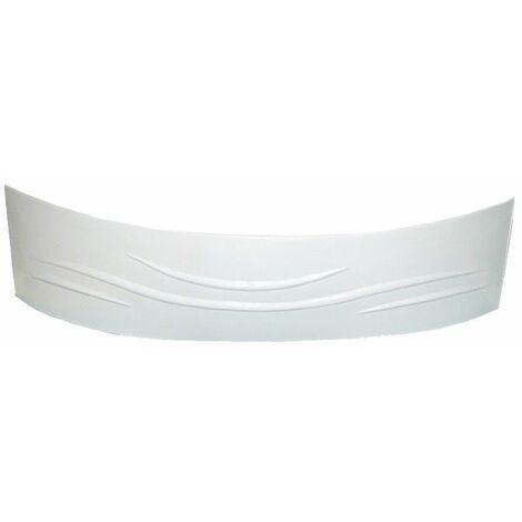 Tablier baignoire d'angle 140x140cm blanc - Blanc